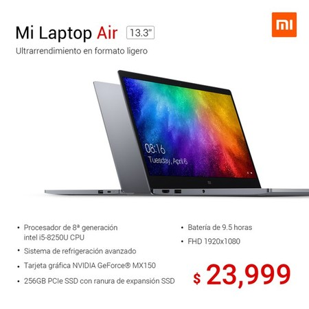 Xiaomi Mi Laptop Air Mexico