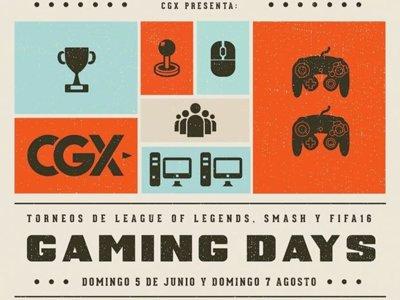 Demuestra tu nivel competitivo en los Gaming Days de CGX en Monterrey