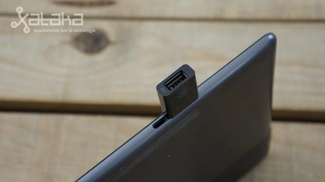 ASUS Vivo Tab RT conector USB