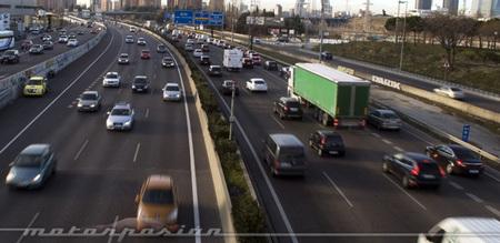 Tráfico congestionado