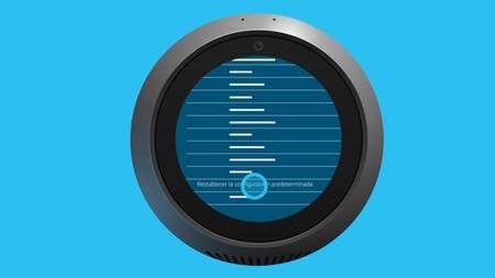 Restablecer Echo Spot