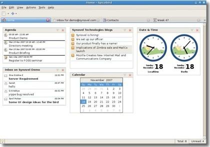 Spicebird, clon de Microsoft Outlook basado en el código de Thunderbird