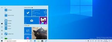 Todos los cambios que recibirá el menú inicio de Windows 10 con la próxima gran actualización