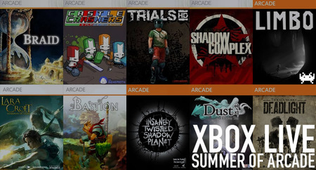 Recordamos los cinco años de Xbox Live Summer of Arcade