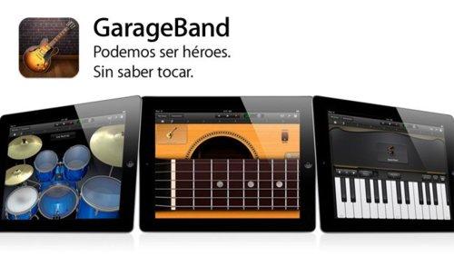 GarageBandparaiPad
