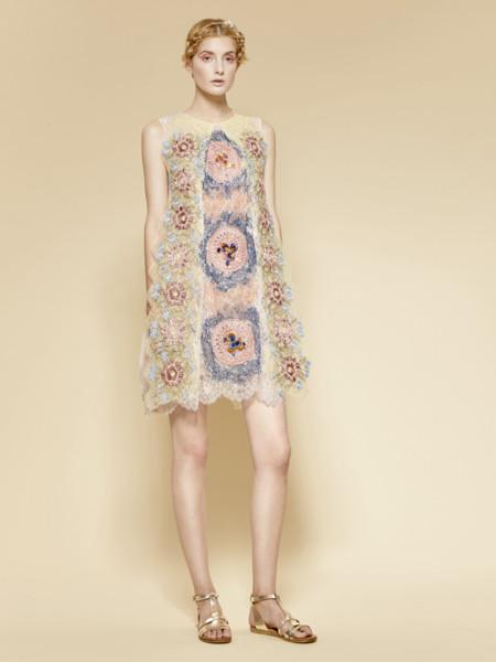 Look 22 Yolan Cris Pret A Couture Ss2016 16 55 Vestido
