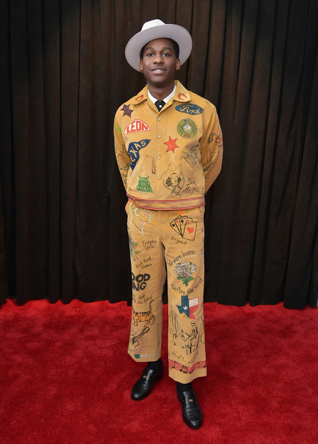 Leon Bridges 61st Annual Grammy Awards Arrivals