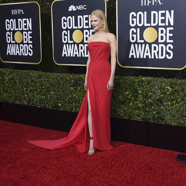 Niole Kidman y las asimetrías son suficientes para brillar en la alfombra roja de los Globos de Oro 2020