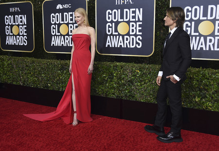 Nicole Kidman y las asimetrías son suficientes para brillar en la alfombra roja de los Globos de Oro 2020