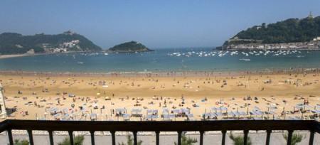 Hotel Niza playa San Sebastián