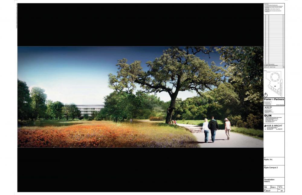 Foto de Proyecto original del nuevo campus de Apple (17/27)