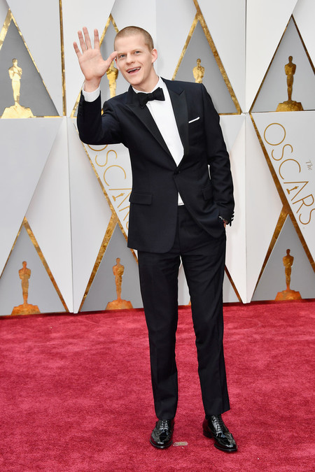 Lucas Hedges Oscars 2017 Awards Red Carpet
