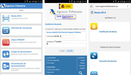 App de la Agencia Trbutaria