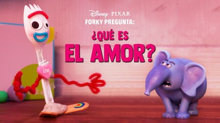 Corto animado de Toy Story 4 con Forky en Disney+ sobre el amor