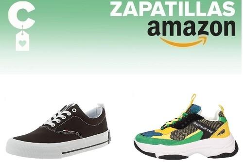 Chollos en tallas sueltas de zapatillas Calvin Klein, Tommy Hilfiger o Lacoste en Amazon a partir de 25 euros