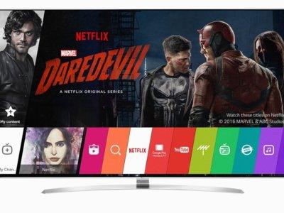 Netflix recomienda 25 nuevos televisores de LG para usar con su app