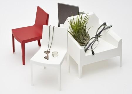 Miniaturas de muebles de diseño en papel por Taiji Fujimori