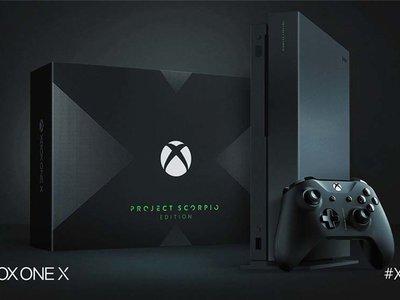 Xbox One X, este es su precio oficial en México