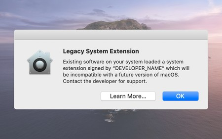 Apple avisa a los usuarios: las extensiones del kernel dejarán de funcionar en una próxima versión de macOS