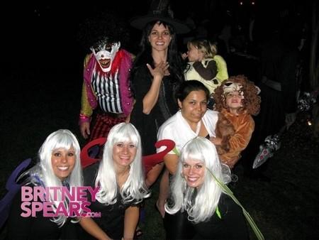 Britney Spears muestra cómo fue su Halloween