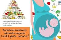 Durante el embarazo, alimentos seguros ¡más que nunca!