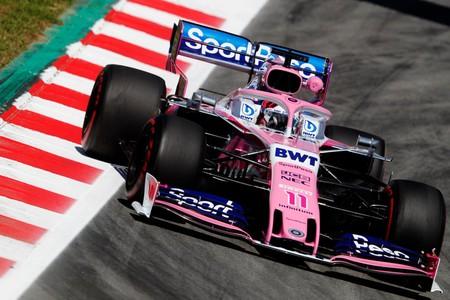 Sergio Perez Espana Formula 1 2019