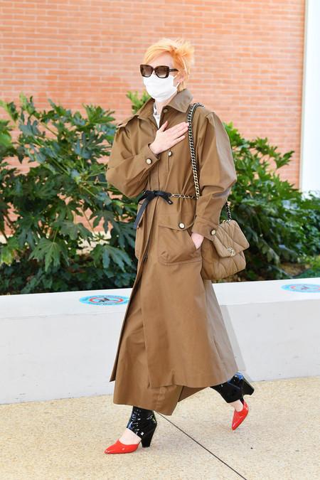 Ccc Tilda Swinton Chanel Sighting Venice September 2020