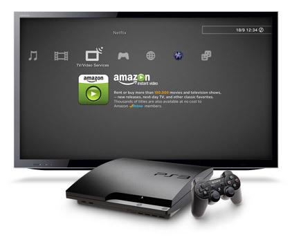 Amazon Instant video en PS3