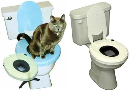 La tontería de la semana: un váter para que tu gato haga sus necesidades