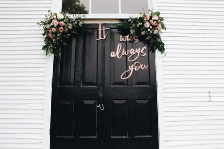 Estos son los 11 photocalls de boda que todos tus invitados querrán copiarte en su gran día