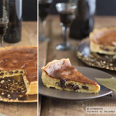 Tarta de Pedro Ximénez: receta dulce original con la que quedar bien