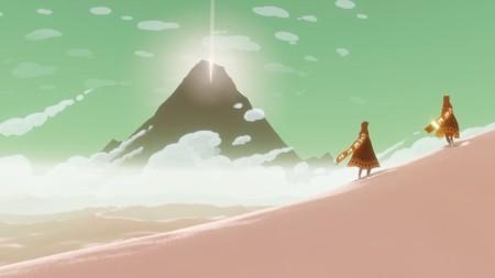 La versión para PS4 de Journey progresa adecuadamente