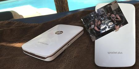 Imprime tus fotos desde el móvil a un precio de escándalo: impresora HP Sprocket Plus por menos de 100 euros en El Corte Inglés