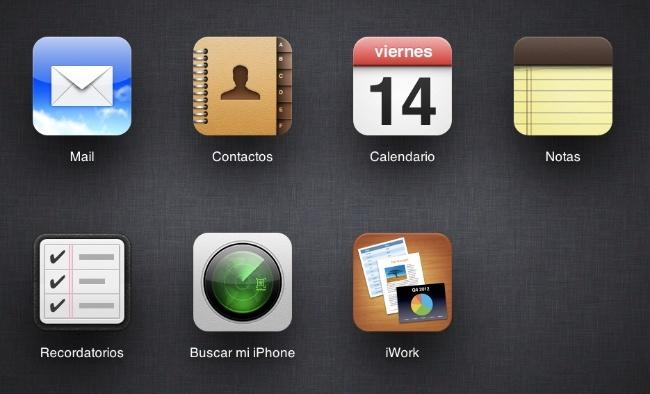 icloud.com notas recordatorios web apple