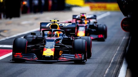 Gasly Silverstone F1 2019