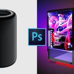 Así es como un PC con AMD Ryzen de 1.530 dólares aplasta a un Mac Pro de 5.660 dólares en Photoshop