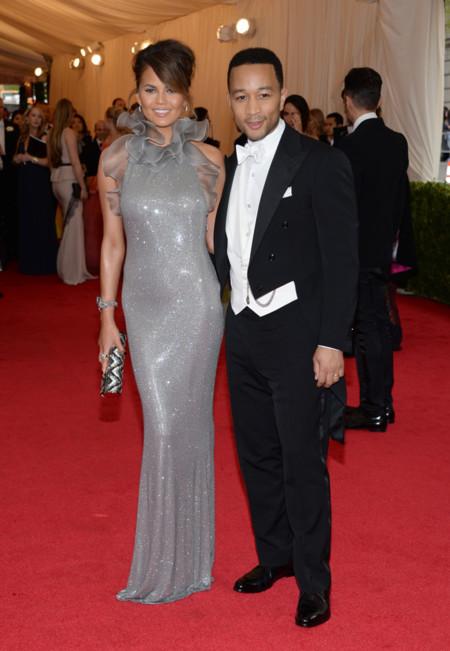 Chrissy Teigen Gala MET 2014 peor vestidas