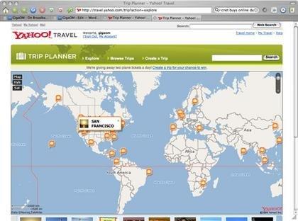 Comparte tus diarios de viaje con Yahoo