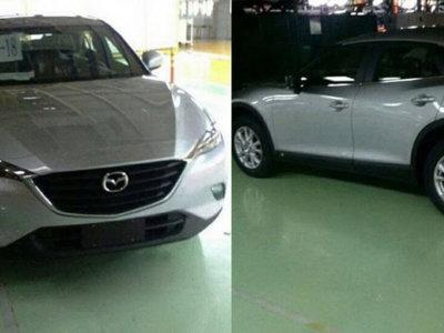 Mazda CX-4 (o CX-6 o CX-7, nadie sabe) capturada sin camuflaje