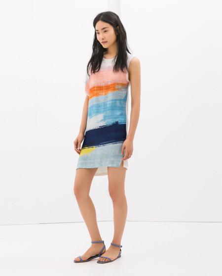 Pinceladas Vestido de Zara