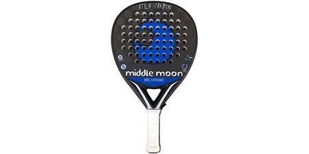 Middle Moon Pala De Padel Atila Carbon 24k 2019