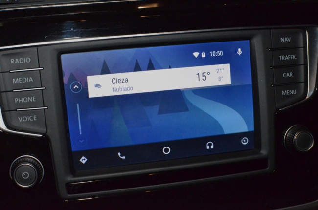 Android Auto Review Tarjetas