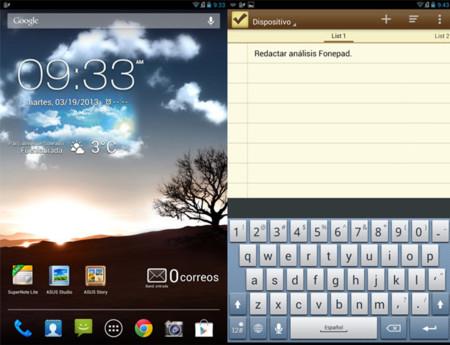 Asus FonePad software