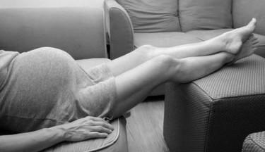 Hinchazón de piernas en el embarazo