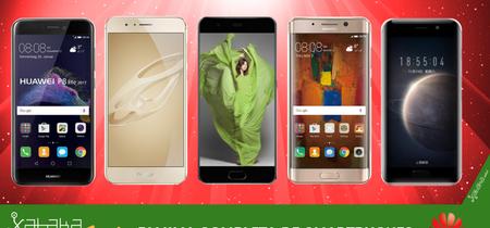 Huawei P10 y P10 Plus, así encajan dentro del catálogo completo de smartphones Huawei en 2017