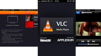VLC, ahora también disponible para iPhone y iPod touch
