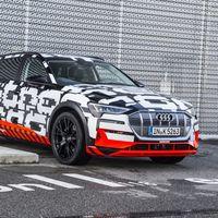 El Audi e-tron de producción llegará en verano y dos de sus hermanos no tardarán: e-tron Sportback y e-tron GT