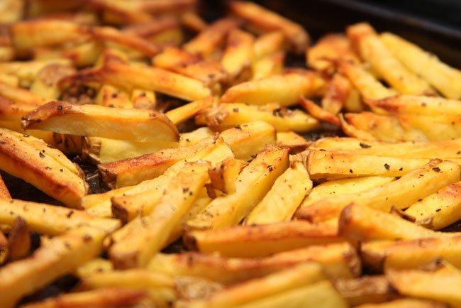 Resultado de imagen de patatas fritas quemadas