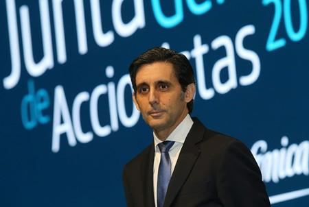 Jose Maria Alvarez Pallete Presidente Telefonica Movistar