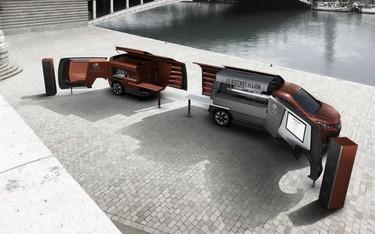 Peugeot expone por primera vez su Foodtruck en la Milan Design Week